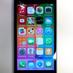 Recensione iPhone 5S - frontale acceso