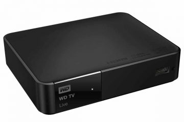 WD TV Live - tre quarti