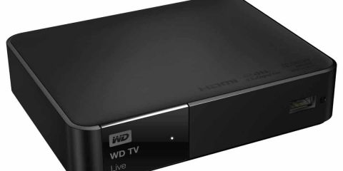 WD TV Live - tre quarti