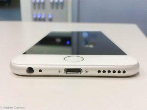 recensione iphone 6 - bottom