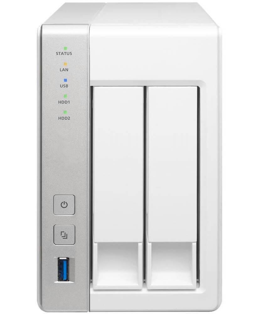 NAS multimediali due dischi - Qnap TS-251