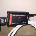 Portare Sky HD - Lindy 38002- Ricevitore collegato