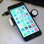 iPhone 6 Plus - dimensioni con chiavetta