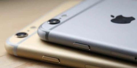 iPhone 6 plus con iPhone 6