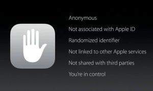 iOS 9 rispetterà la privacy degli utenti