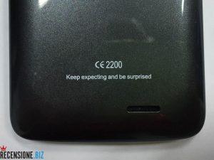 Elephone G2 4G LTE-dettaglio claim
