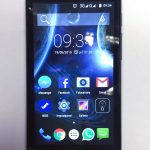 Elephone G2 4G LTE - schermo acceso