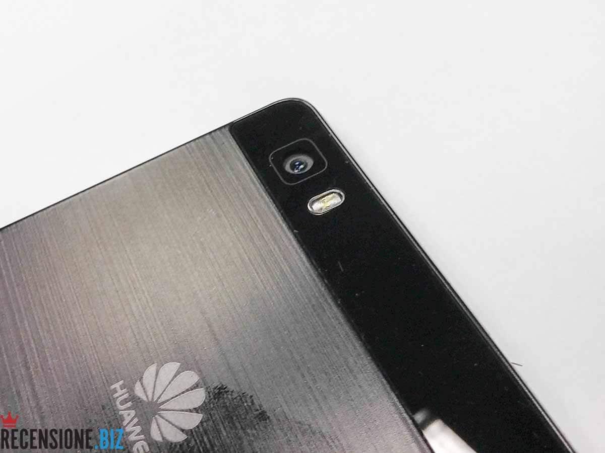 Huawei P8 lite particolare fotocamera