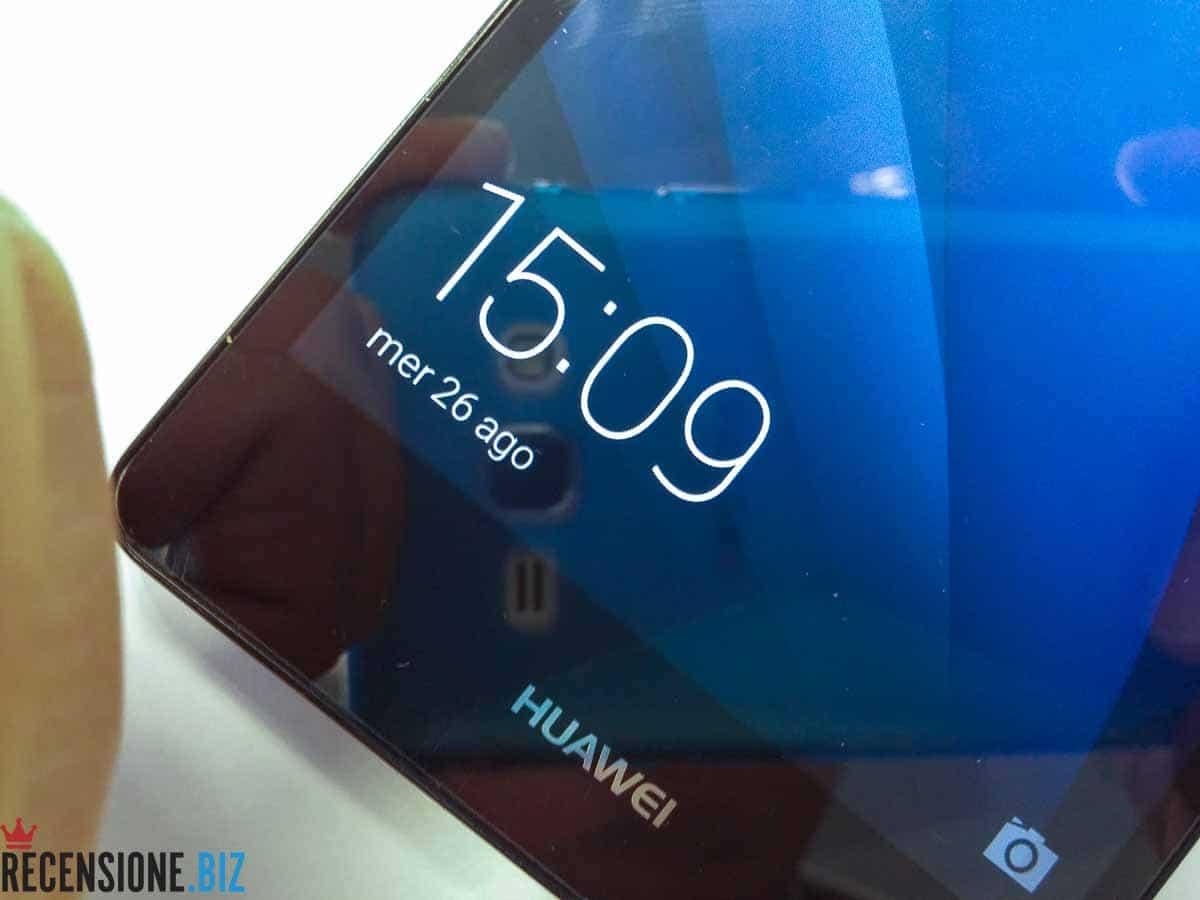 Huawei P8 lite zoom su schermo