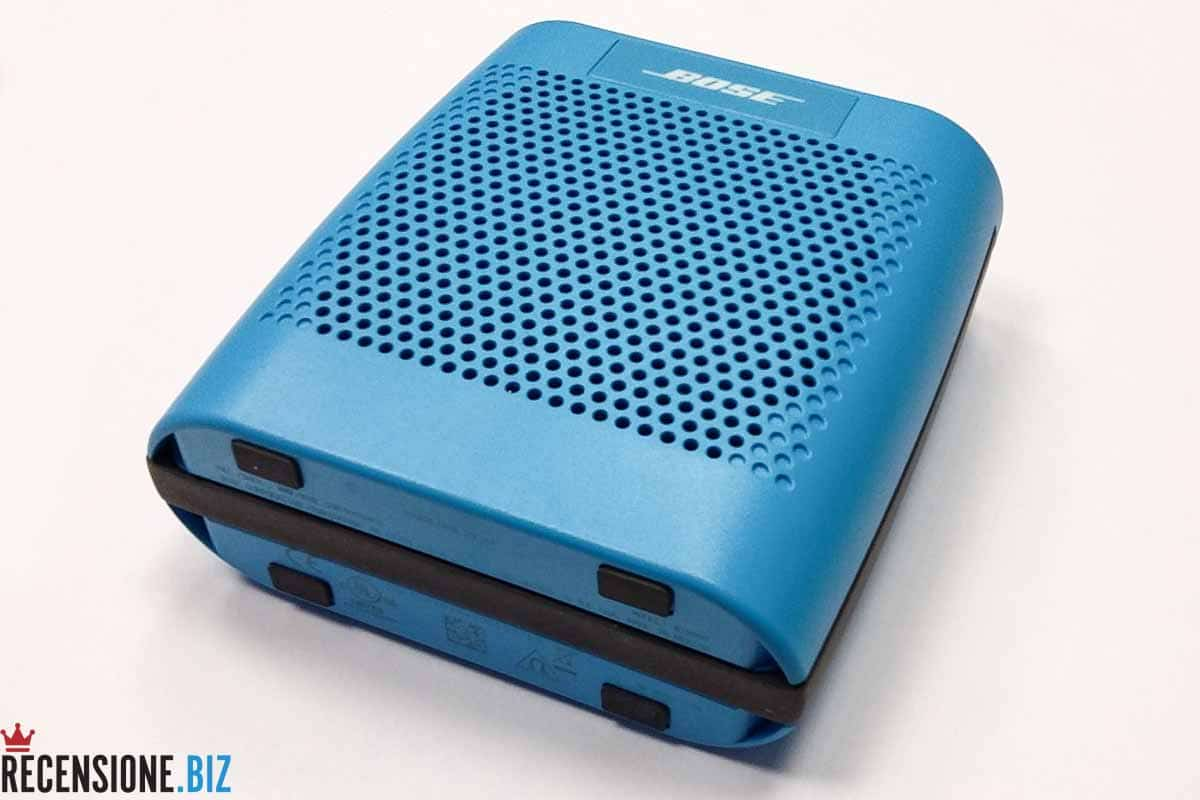 Cassa Bose SoundLink Colour Bluetooth - tre quarti frontale