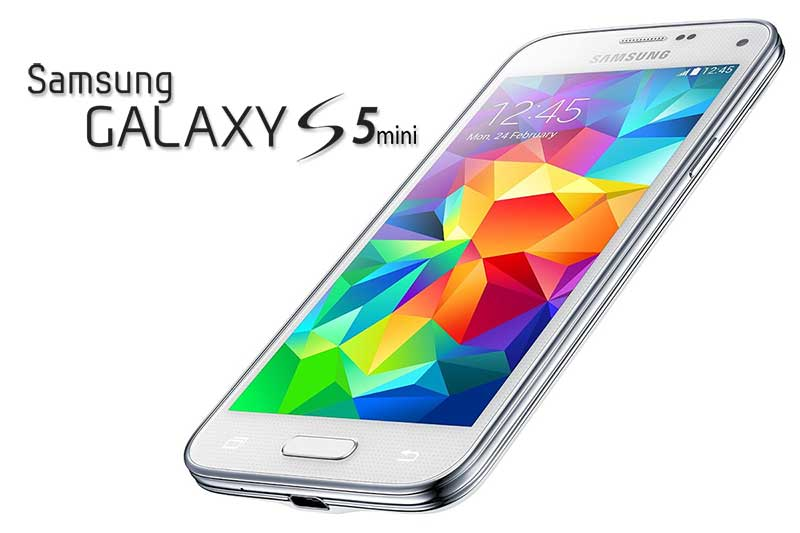 Samsung Galaxy S5 mini - foto principale con logo