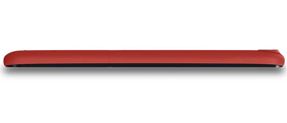 Wiko Lenny 2 - Laterale rosso corallo