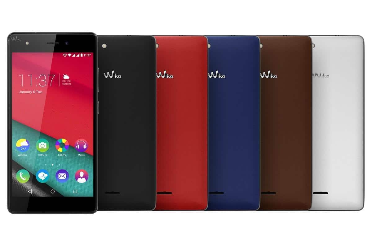 wiko pulp fab 4g - colori