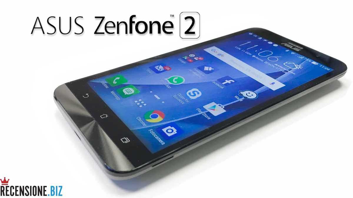 Asus Zenfone 2 recensione ZE551ML