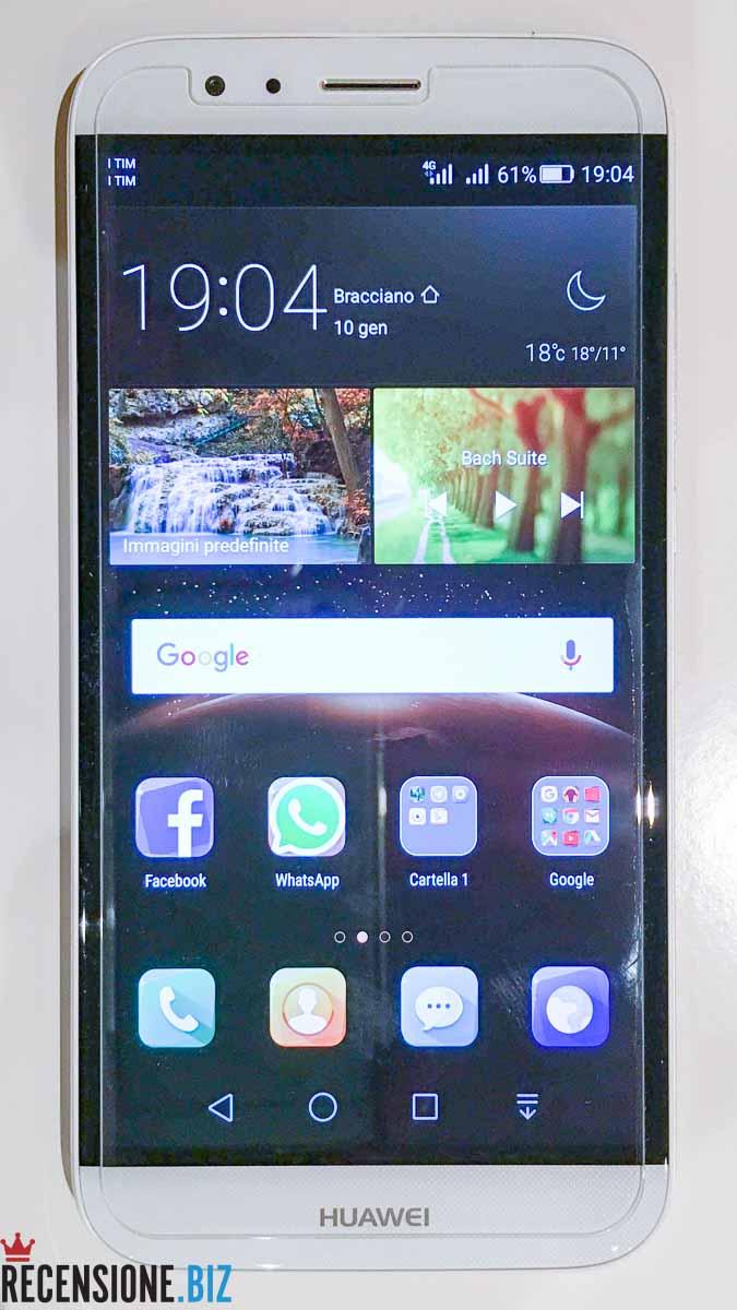 Huawei G8 - schermata home