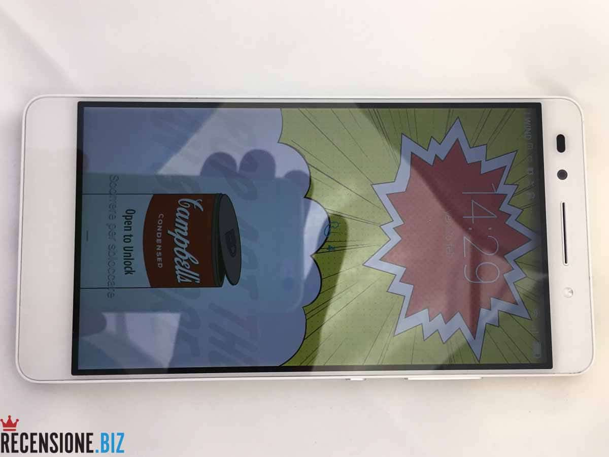 Huawei Honor 7 - schermo acceso frontale