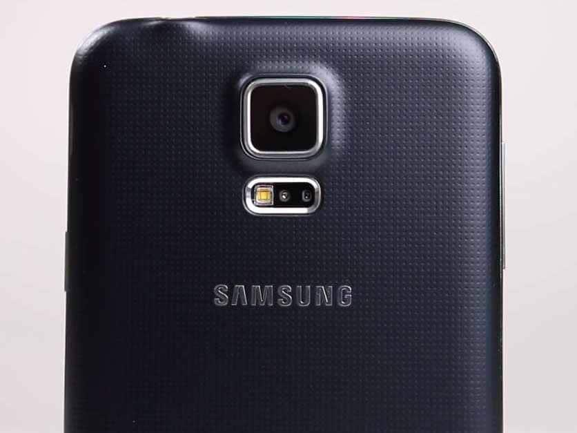 Samsung Galaxy S5 Neo - vista fotocamera