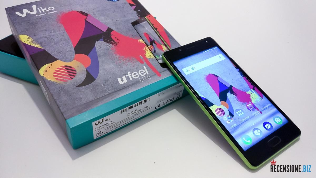 Wiko uFeel Lite - acceso con scatola
