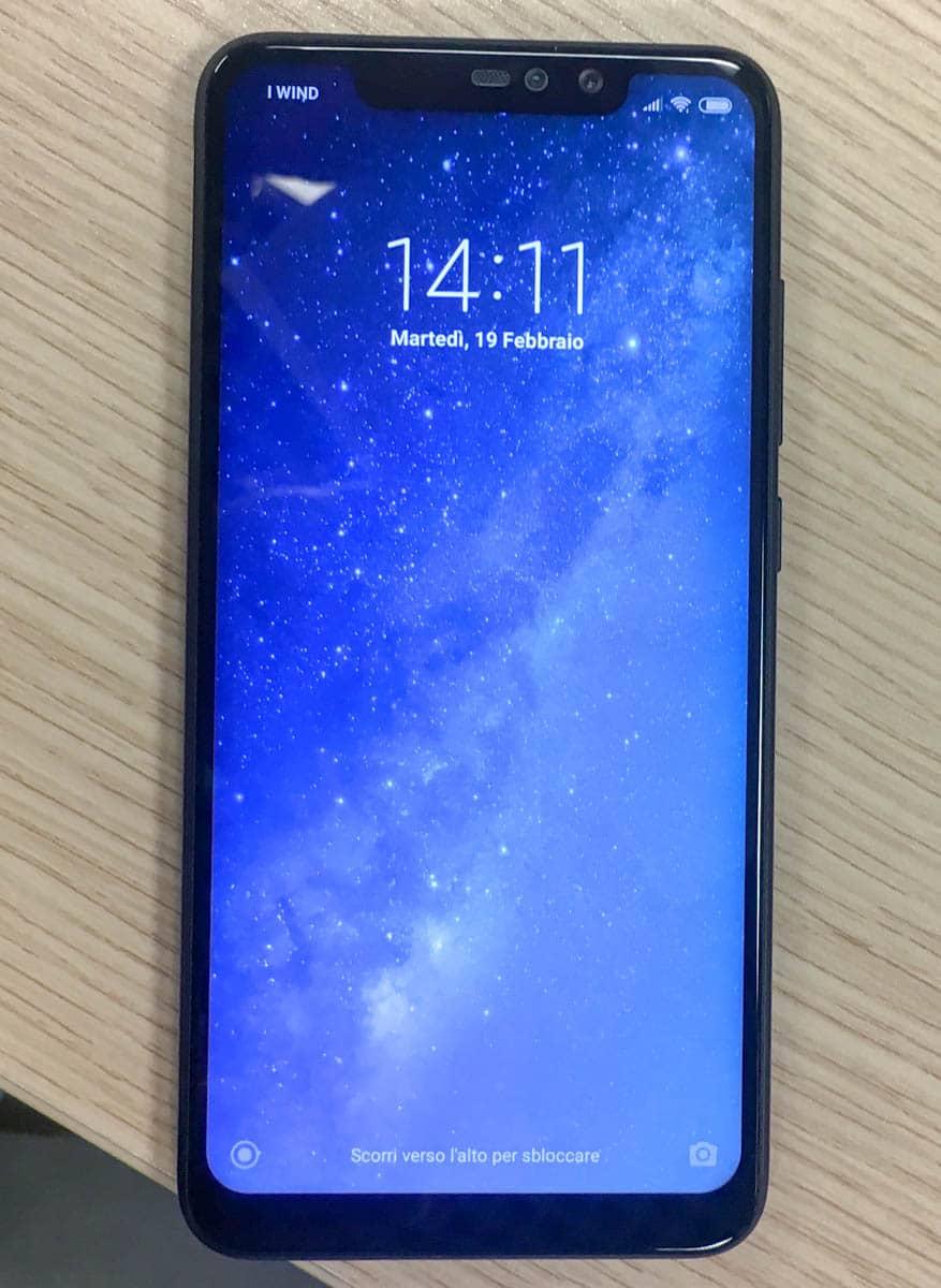 Xiaomi Redmi Note 6 fronte
