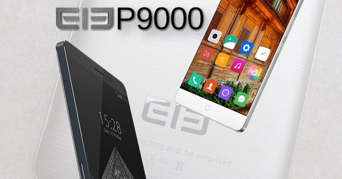 elephone p9000 copertina