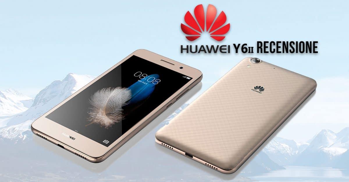 Huawei Y6 ii copertina