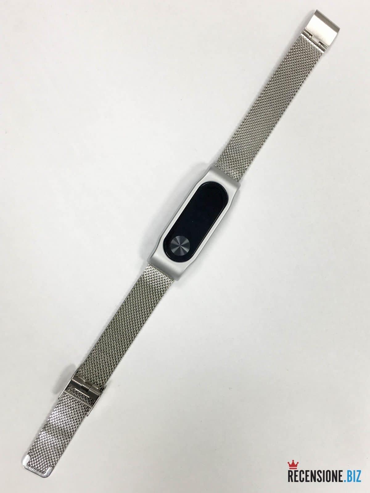 Xiaomi mi band 2 bracciale acciaio-2
