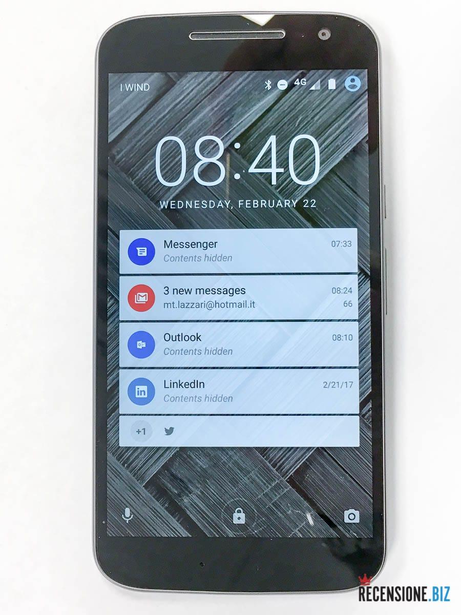 Motorola Moto G4 Display
